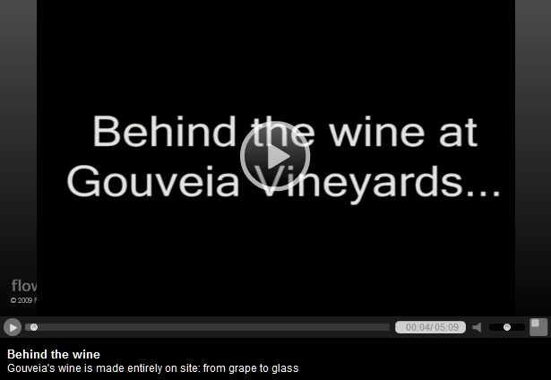 Behind the wine video link